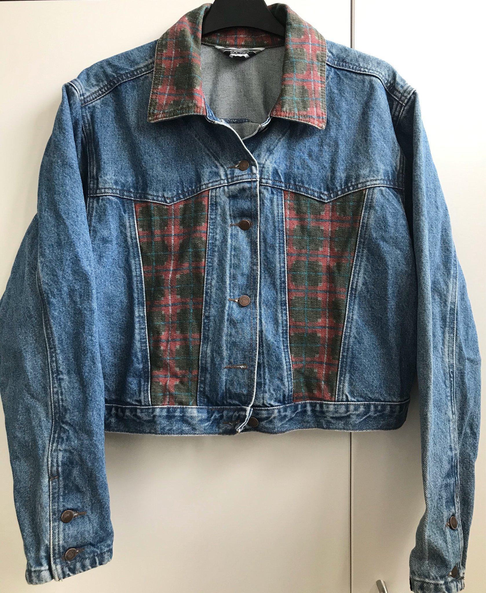Vintage jeansjacka 80s Rockies (398705978) ᐈ Köp på Tradera