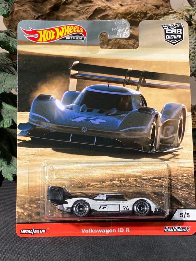 Hot Wheels Premium real riders voiture culture Thrill alpinistes VW Volkswagen ID R