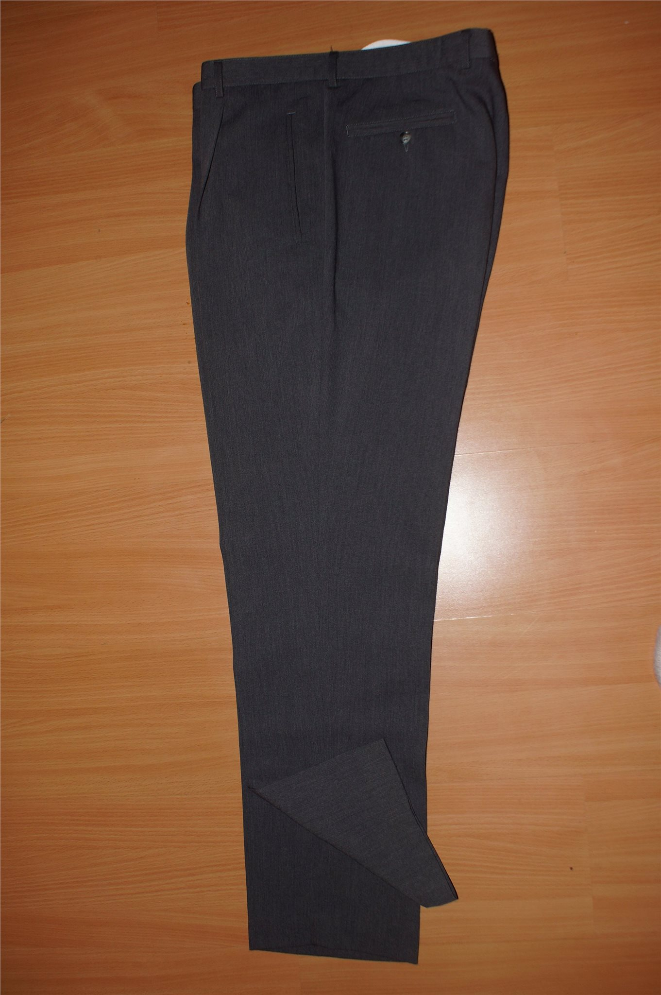 d068f19afe2c Klassiska byxor str S grå kostymbyxor 4YOU tunn.. (351815993) ᐈ Köp ...
