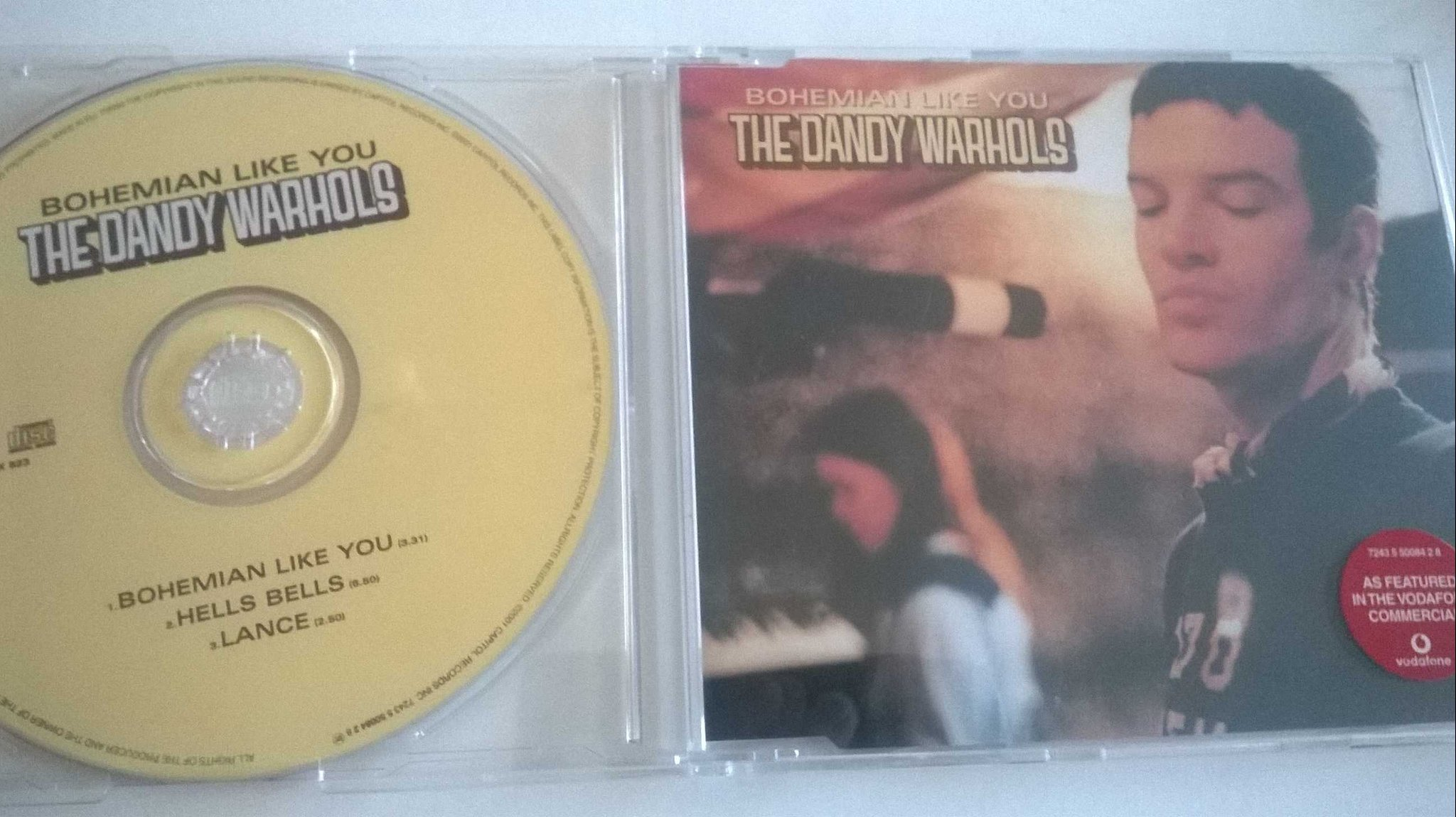 The Dandy Warhols - Bohemian Like You, CD, Single