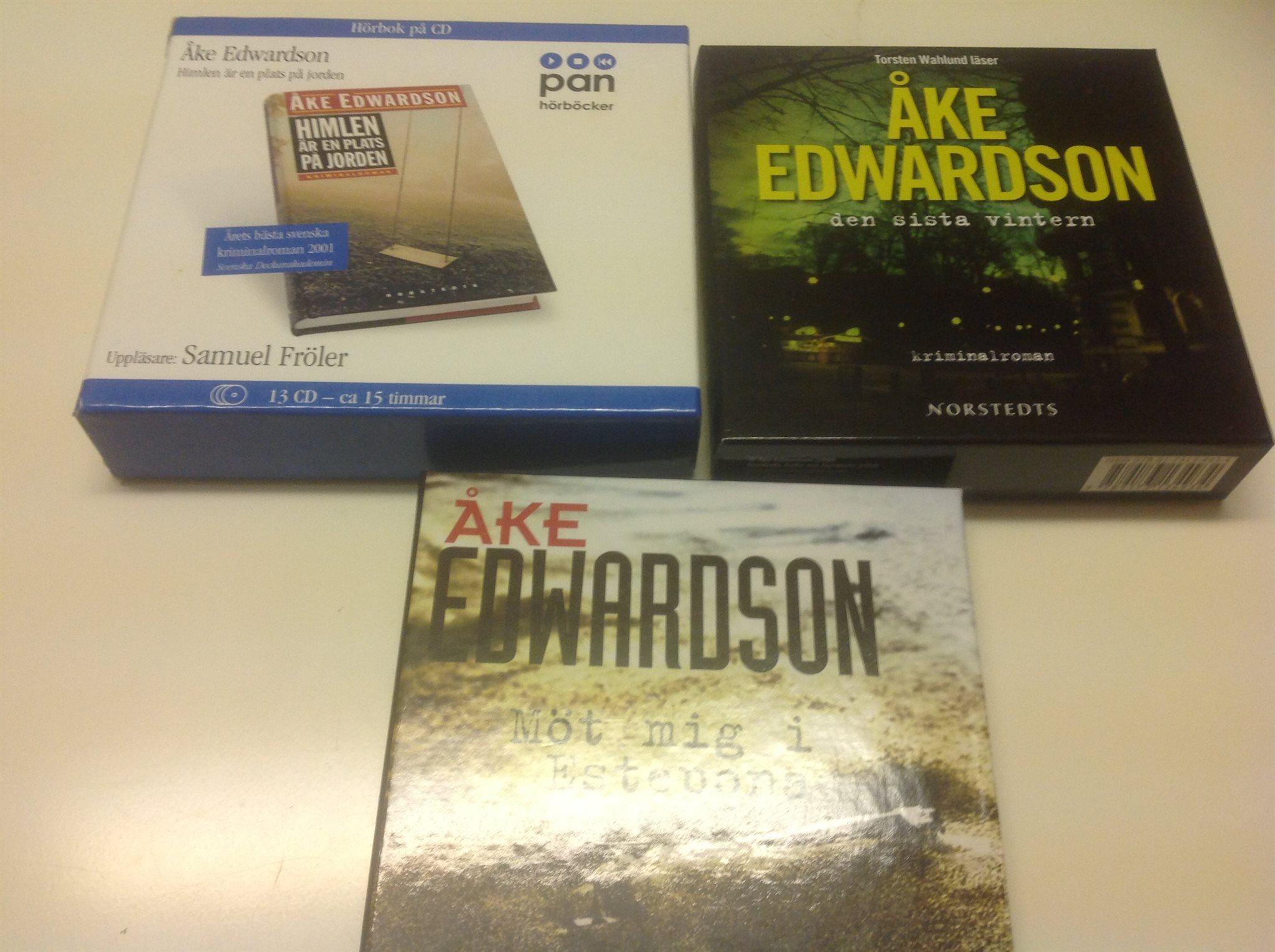b5a7906c4f4 3stcdböcker skriven av Åke edwardson (332897040) ᐈ Köp på Tradera