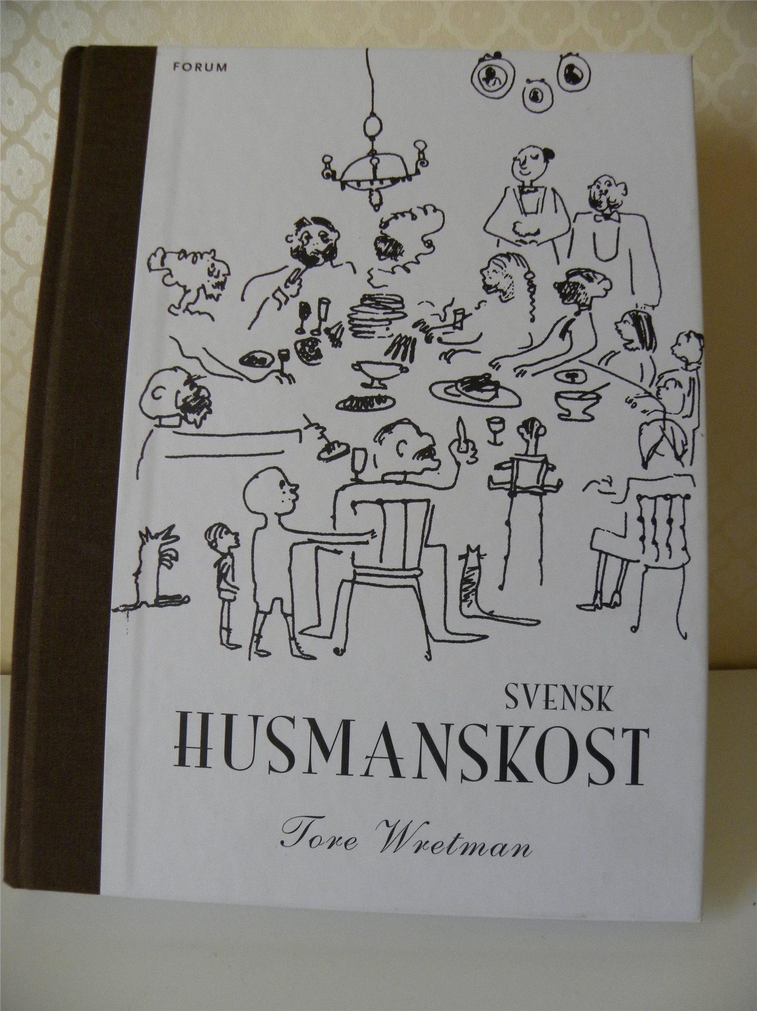 Bok, kokbok, Tore Wretman, Svensk Husmanskost, ny, ej använd
