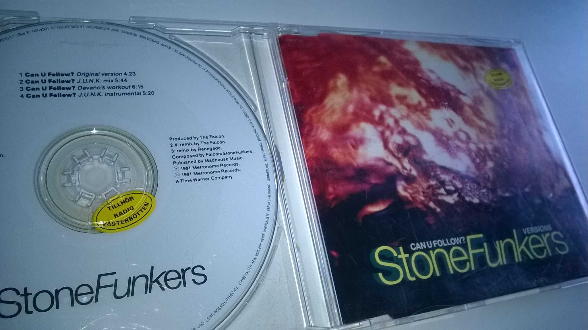 Stonefunker - Can U Follow? CD, Maxi-Single