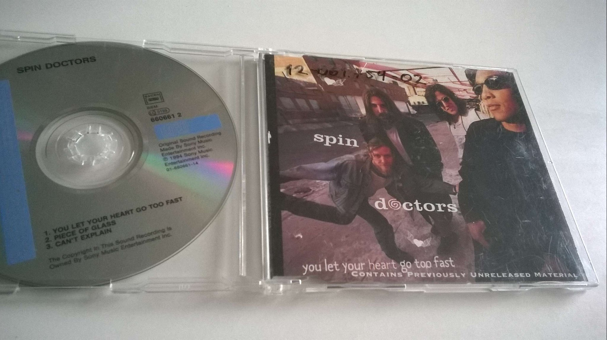 Spin Doctors - You Let Your Heart Go Too Fast, CD, Single