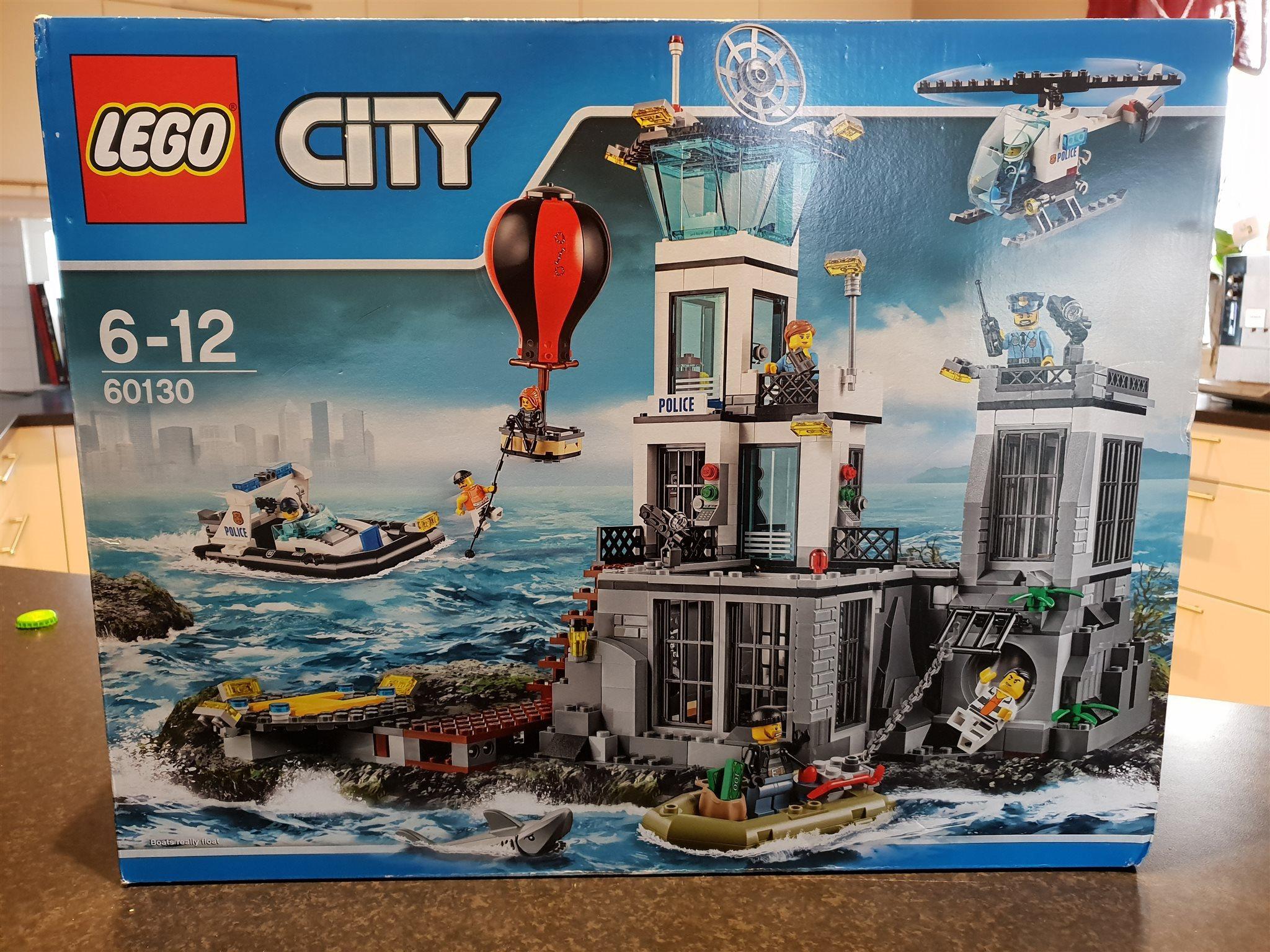 Lego Nytt Oöppnat  City 60130 Fängelseön