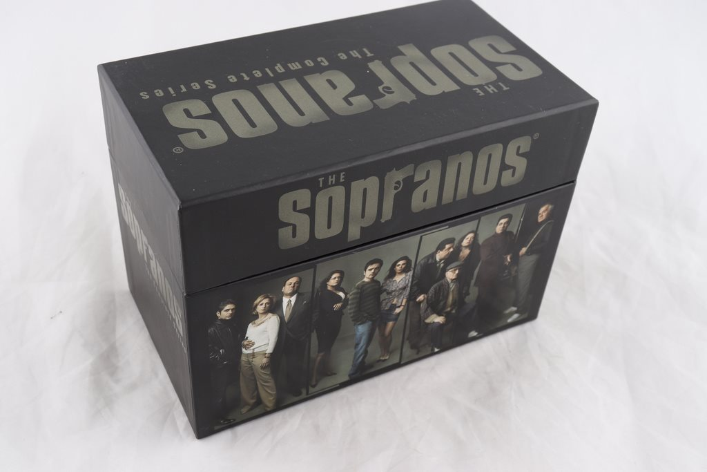 DVD-box, The Sopranos, The Complete Series, svensk text
