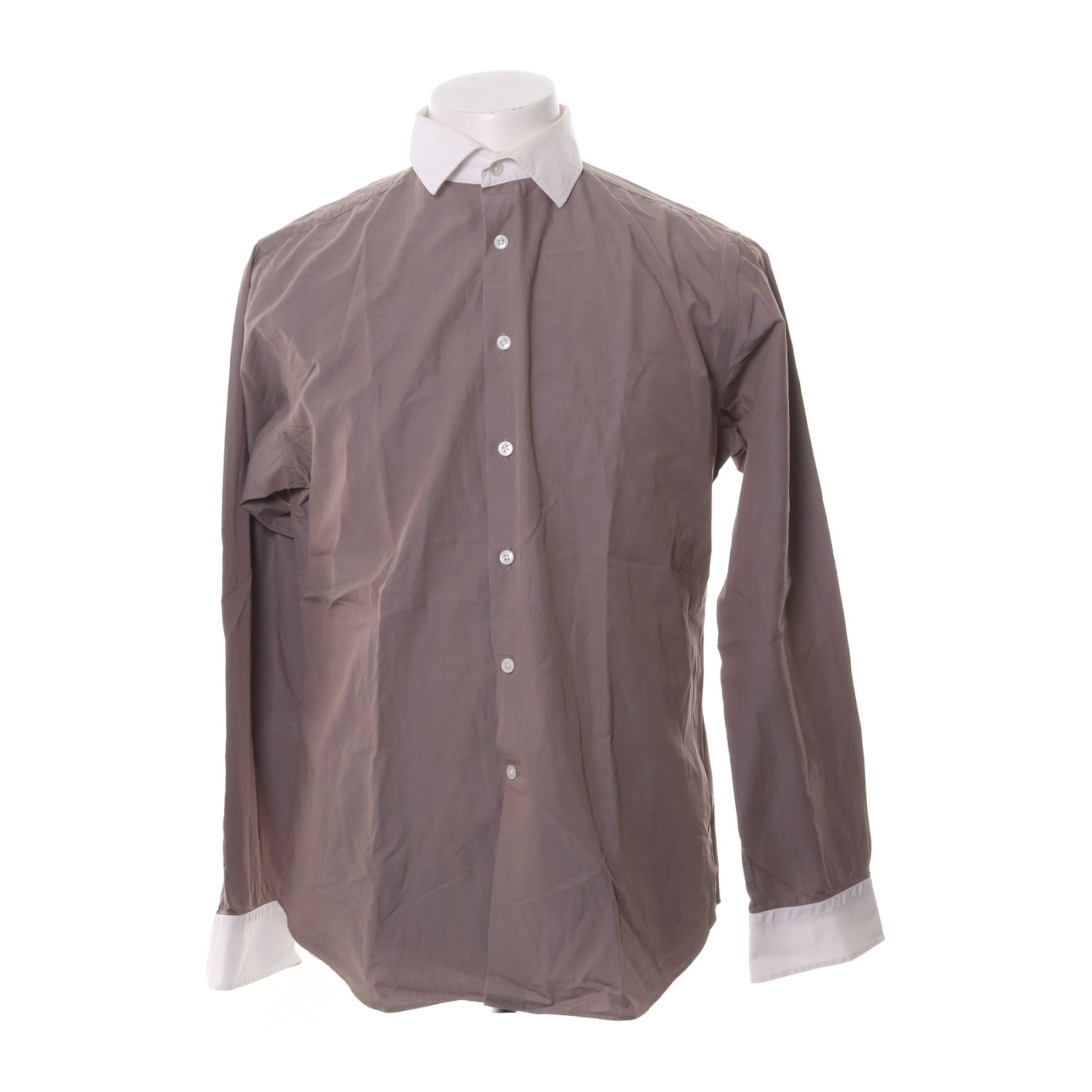 The shirt factory design Linnéa Braun, Skjorta, Strl: 41, Extra Slim Fit