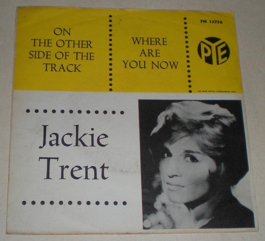 Jackie Trent SINGELOMSLAG Where are you now 1965