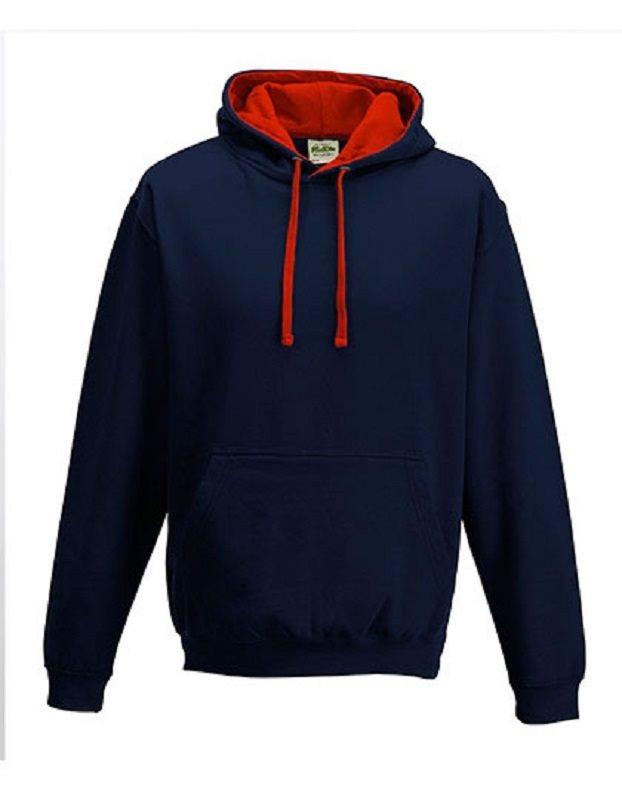 Hood - Huvtröja JH003, marin/röd, storlek storlek storlek XS ddef2d