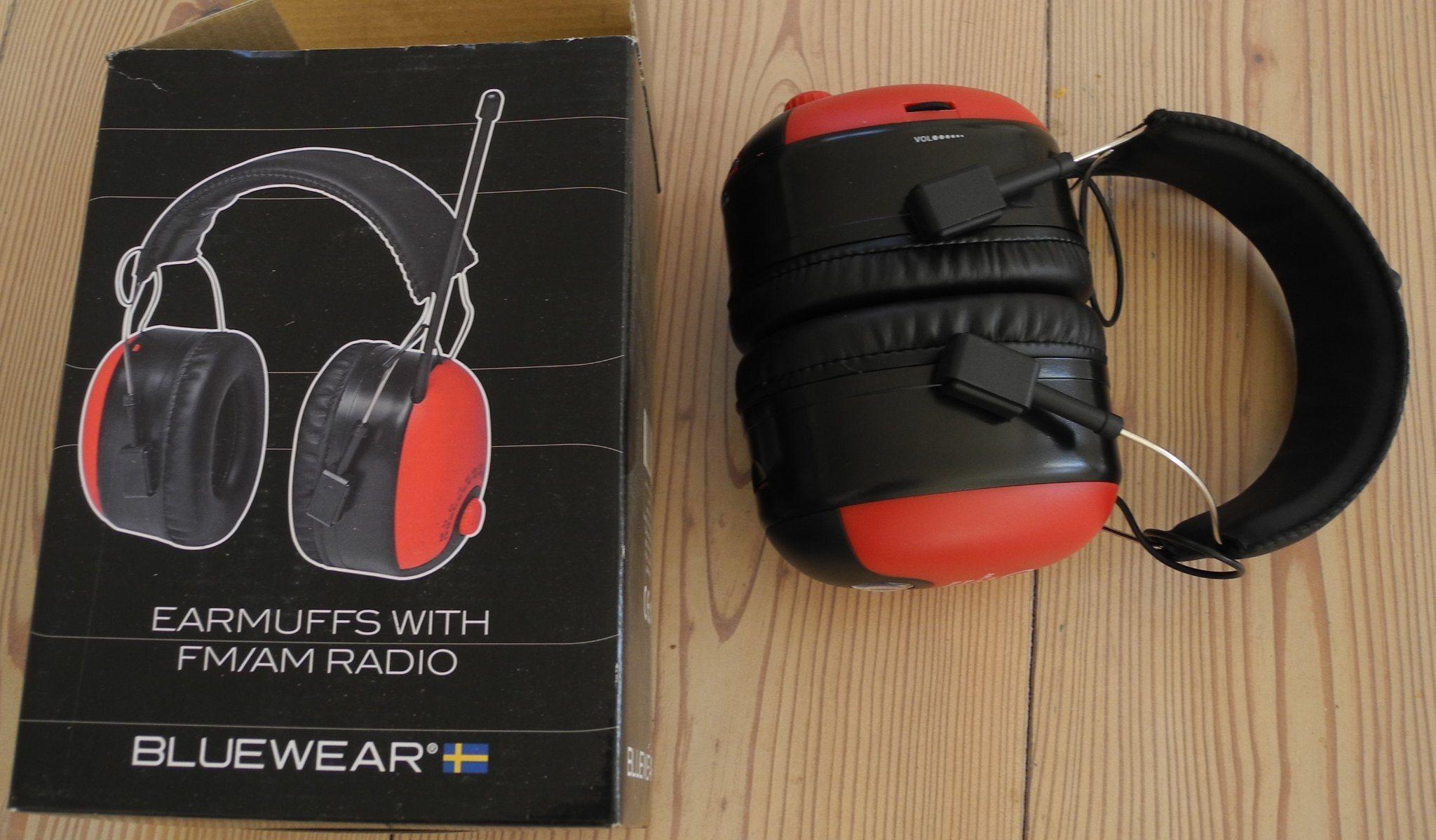 hörselskydd radio medhörning