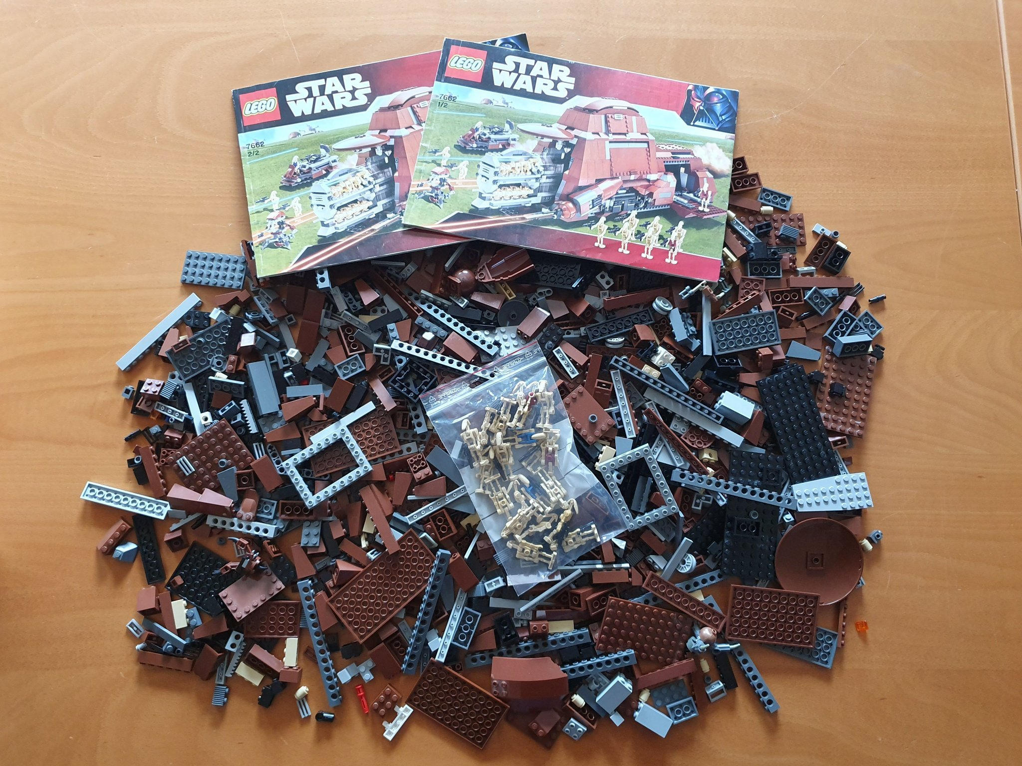 Lego 7662 - Star Wars Trade Federation MTT (353206323) ᐈ