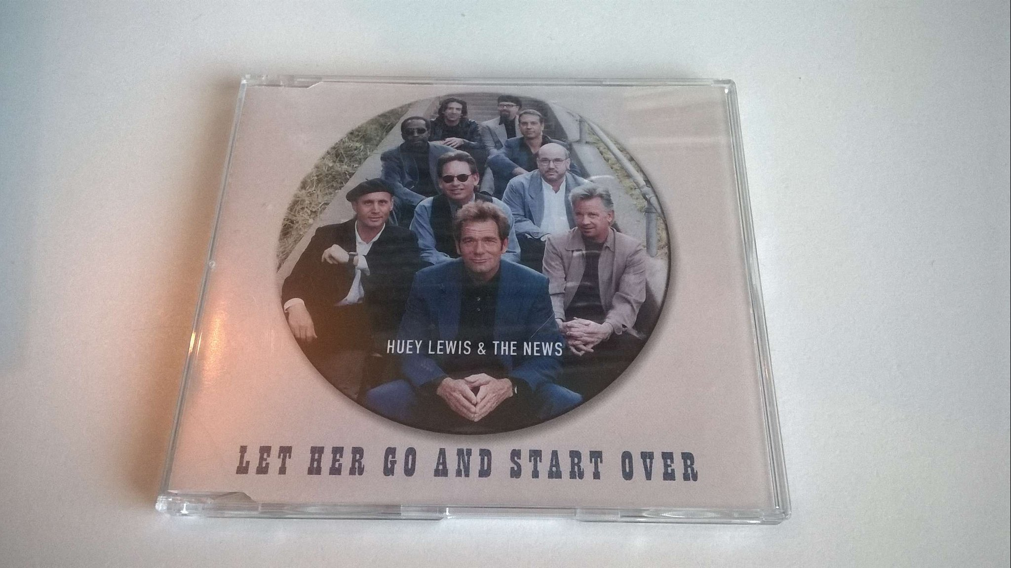 Huey Lewis & The New - Let Her Go and Start Over, CD