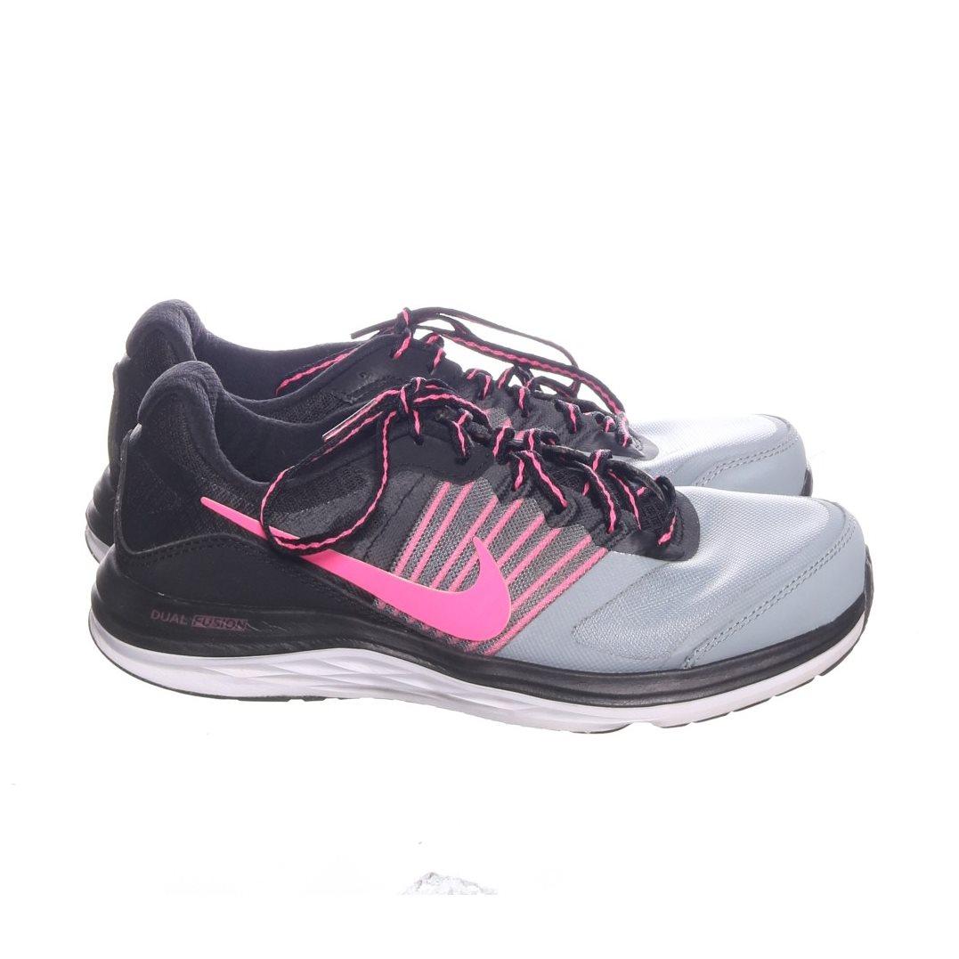 cheap for discount 49d7b 27c31 Nike, Löparskor, Strl  37.5, Dual Fusion X, Svart Grå