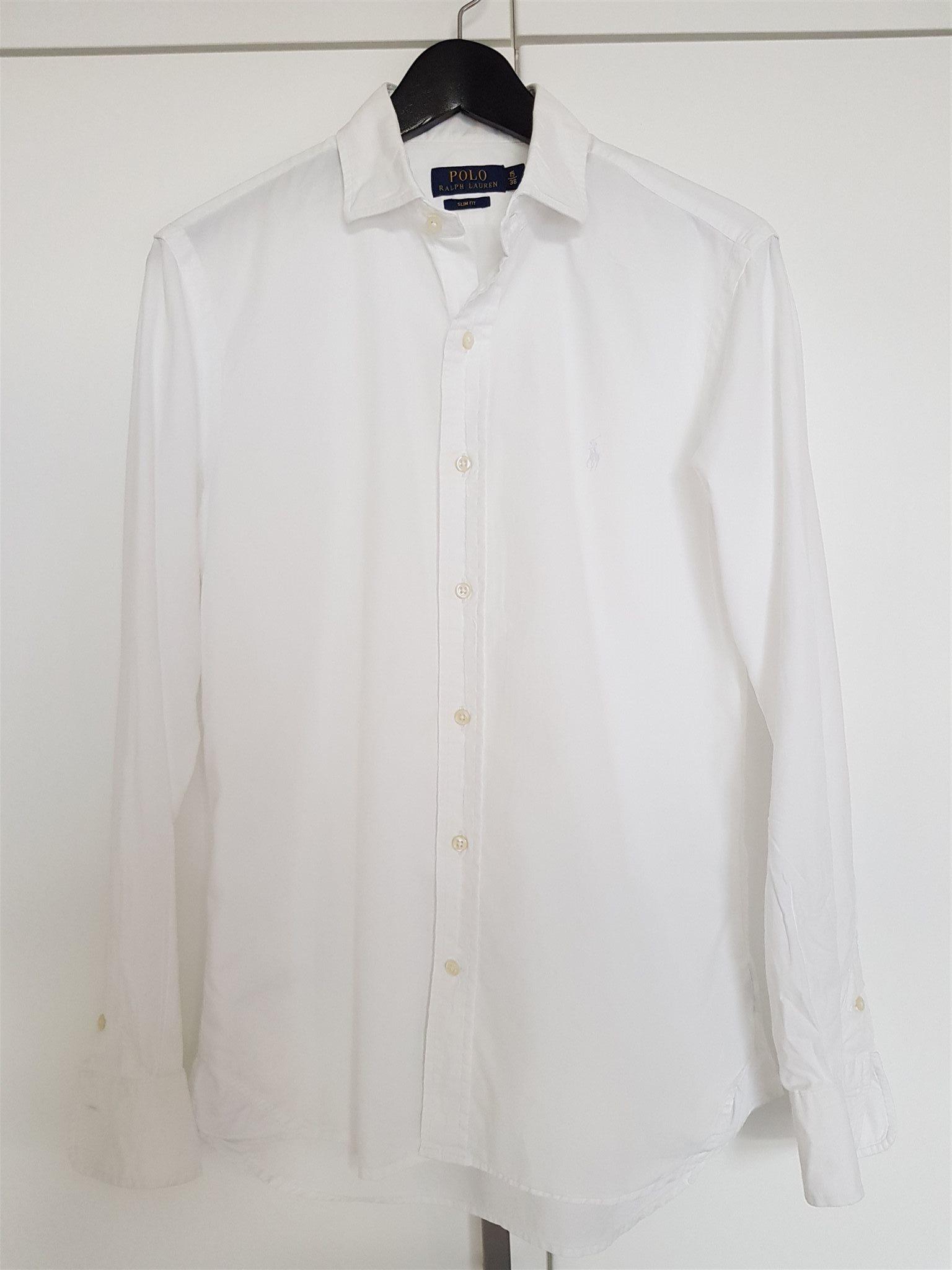 Polo Ralph Lauren - Vit slimfit skjorta i storl.. (334186974) ᐈ Köp ... c41e952054cc4