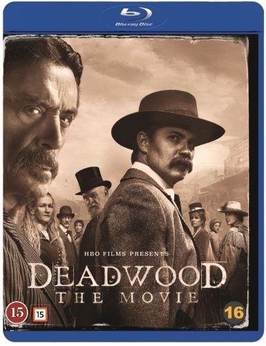 Deadwood - The Movie (blu-ray) ***NY/INPLASTAD***