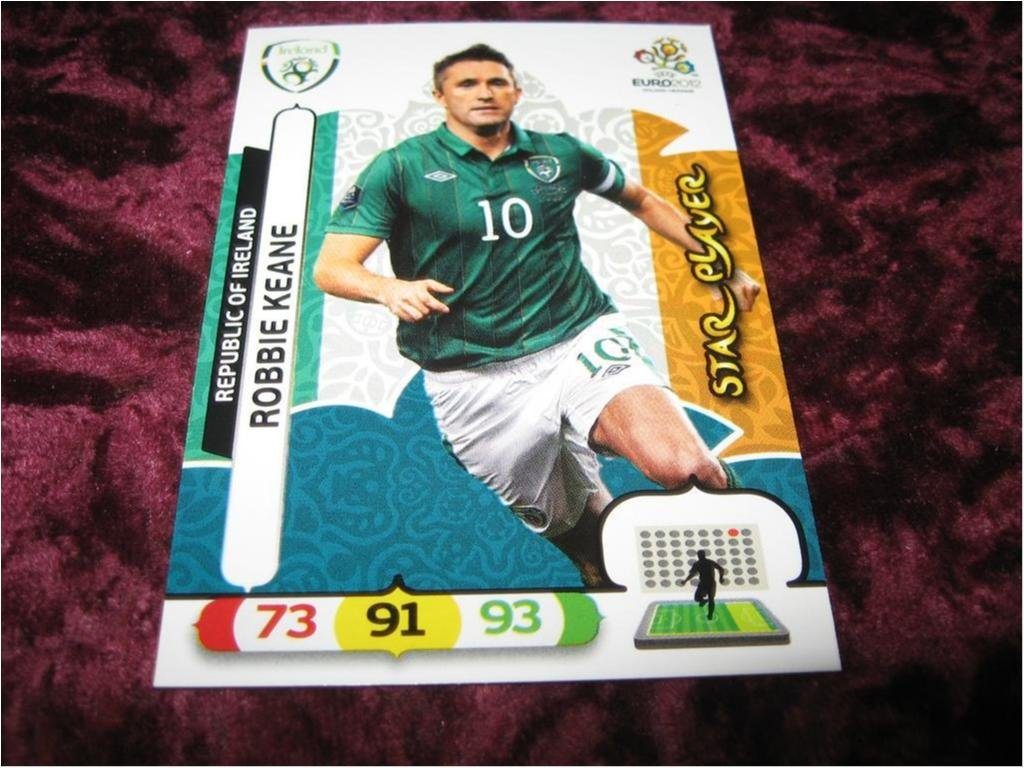 ROBBIE KEANE-IRLAND (REPUBLIC OF IRELAND)-STAR PLAYER-UEFA EURO 2012