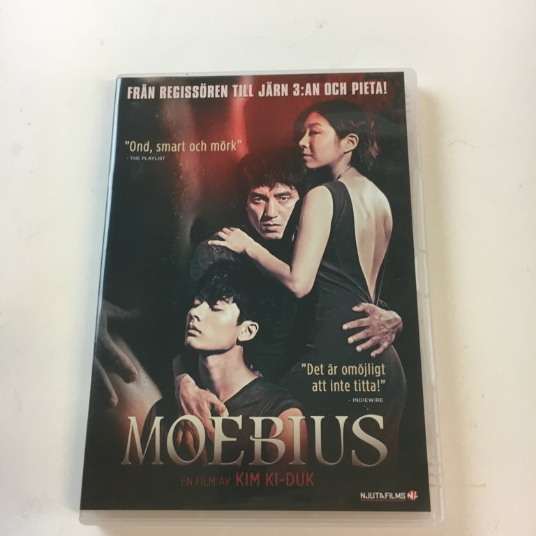 Moebius, Film, DVD, Thriller