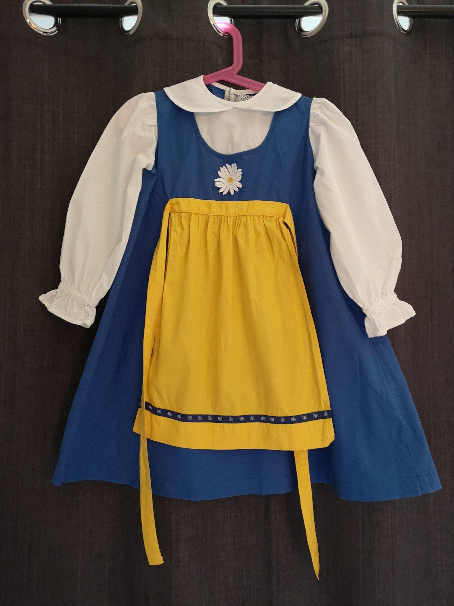 3c1e515d2aa Sverigeklänning (353778020) ᐈ Köp på Tradera