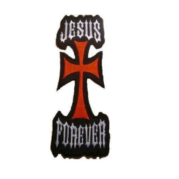 Jesus Forever Big Patch Brodyrmärke.