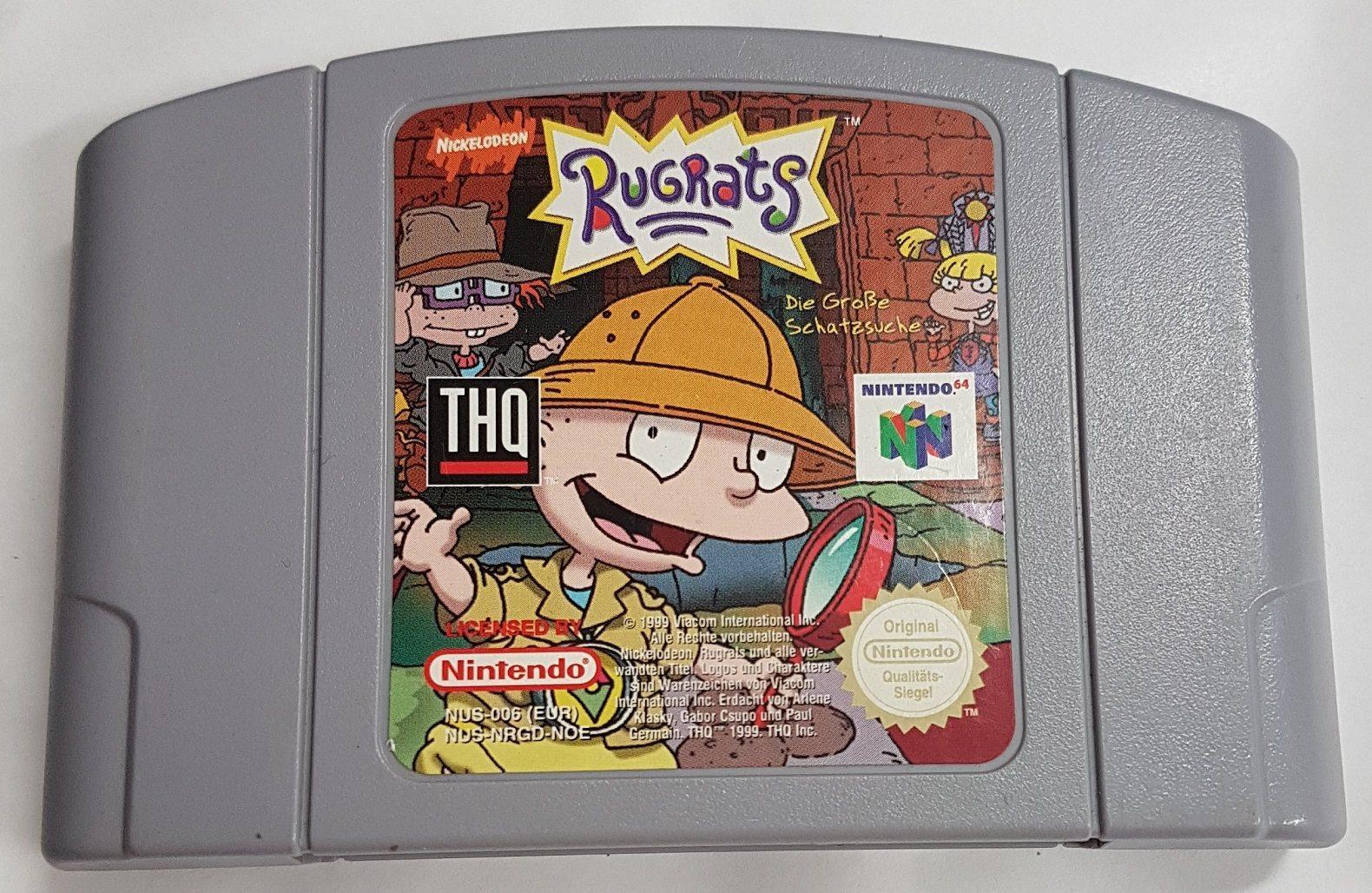 Rugrats - Rug rats - På tyska & Rugrats - Rug rats - På tyska (321356951) ᐈ nostalgibutiken på Tradera
