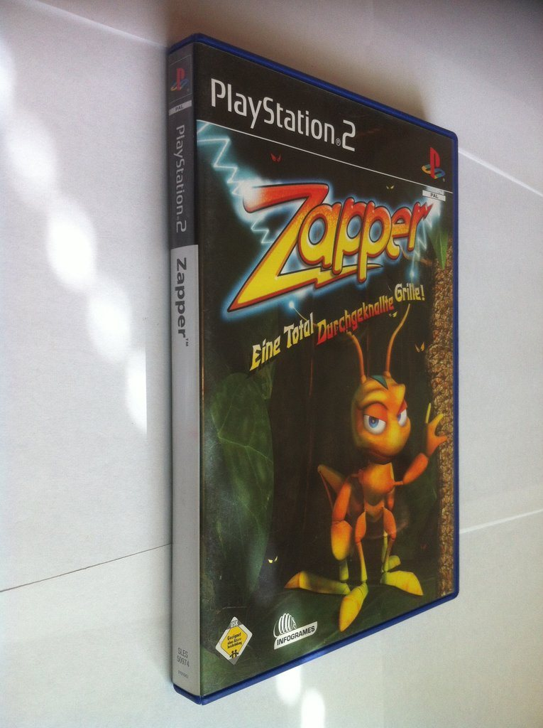PS2: Zapper: One Wicked Cricket