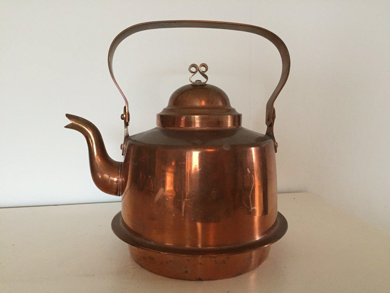Kaffepanna i koppar Wassbergs Borås 2 L på Tradera.com ...