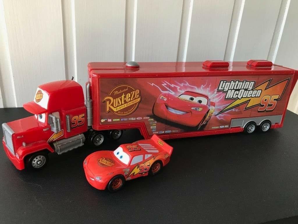 Splinternye Mack Disney Pixar Cars Bilar lastbil Blixten Mc.. (332438641) ᐈ GA-52