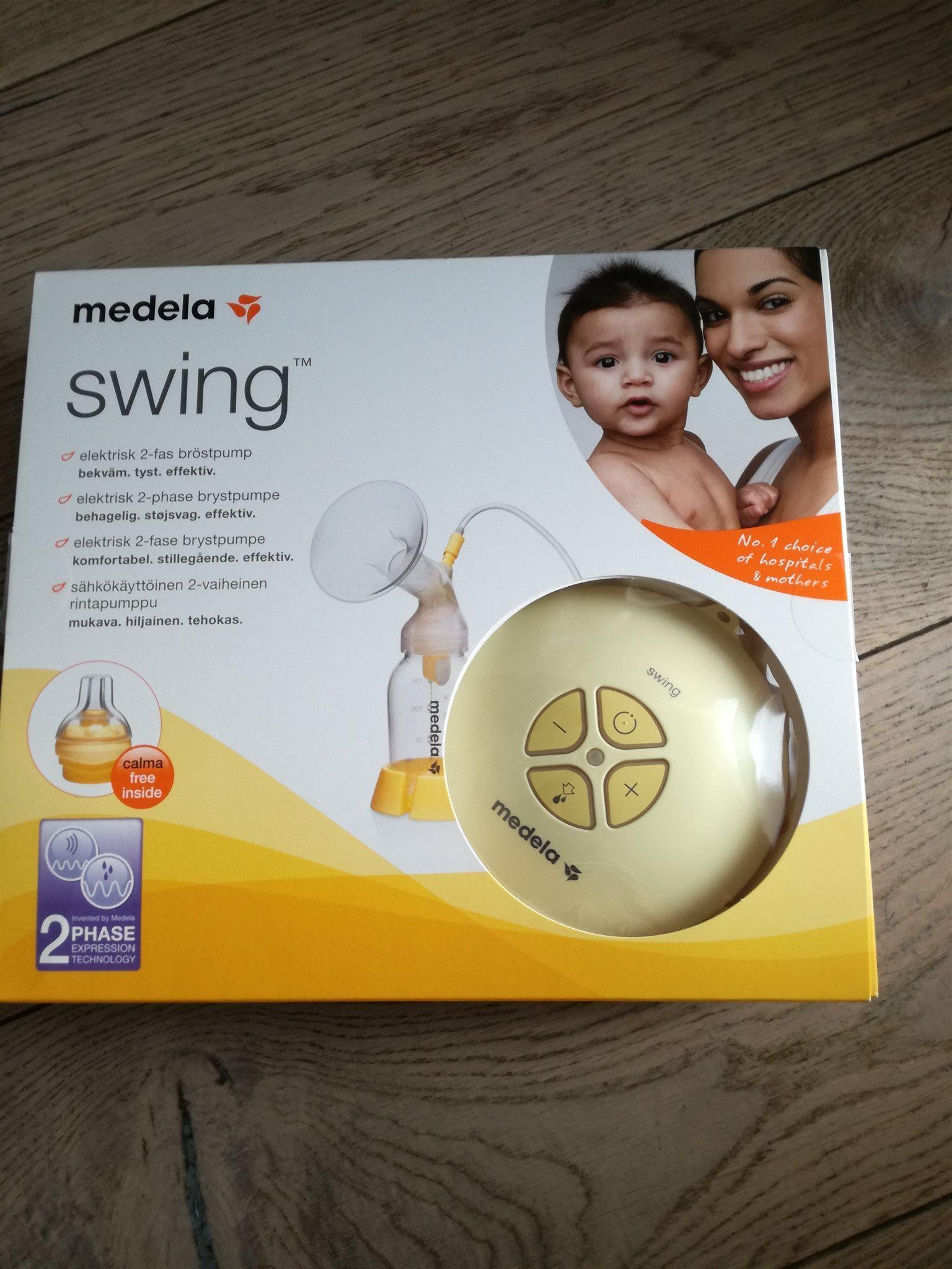 Medela Swing bröstpump med många extratillbehör.. (332472431) ᐈ Köp ... c0d6b8cc3188d