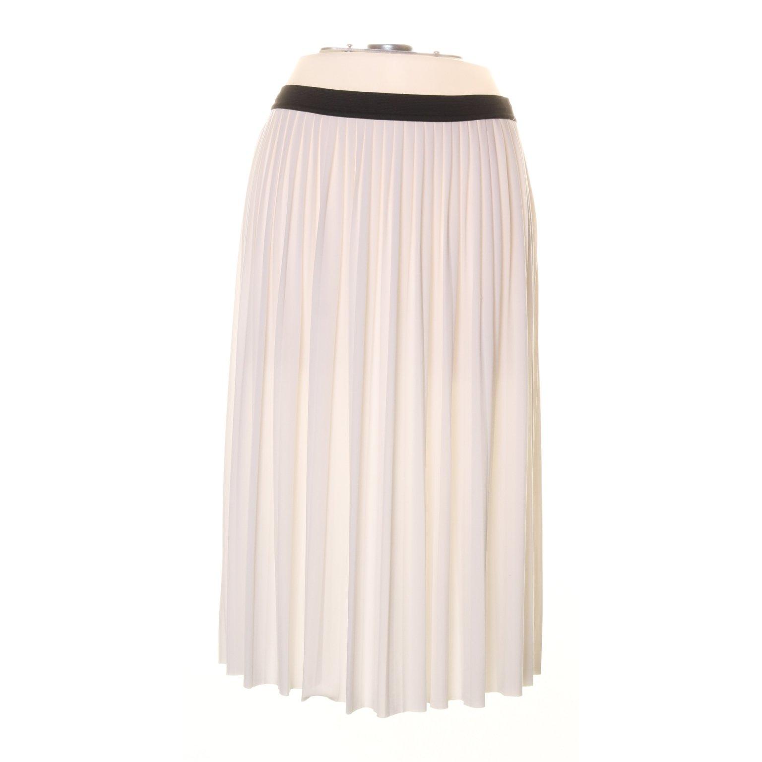 afe95b6d0689 ESPRIT, Plisserad kjol, Strl: M, Gräddvit (345924153) ᐈ Sellpy på ...