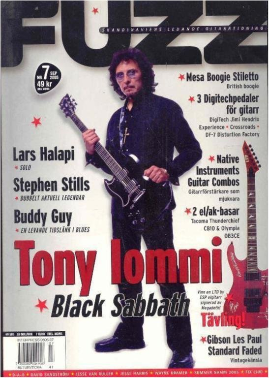 Fuzz Nr. 7 2005 - Tony Lommi & Buddy Guy intervjuer