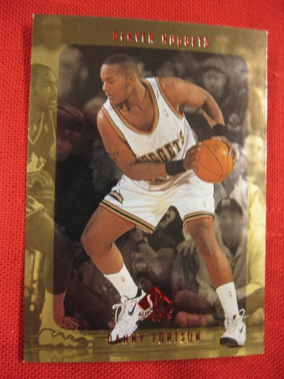 DANNY FORTSON -  RC - SP AUTHENTIC 1997-98 - DENVER NUGGETS - BASKET
