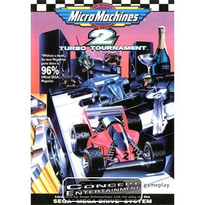 MICRO MACHINES 2 – TURBO TOURNAMENT (kassett) till Sega Mega Drive