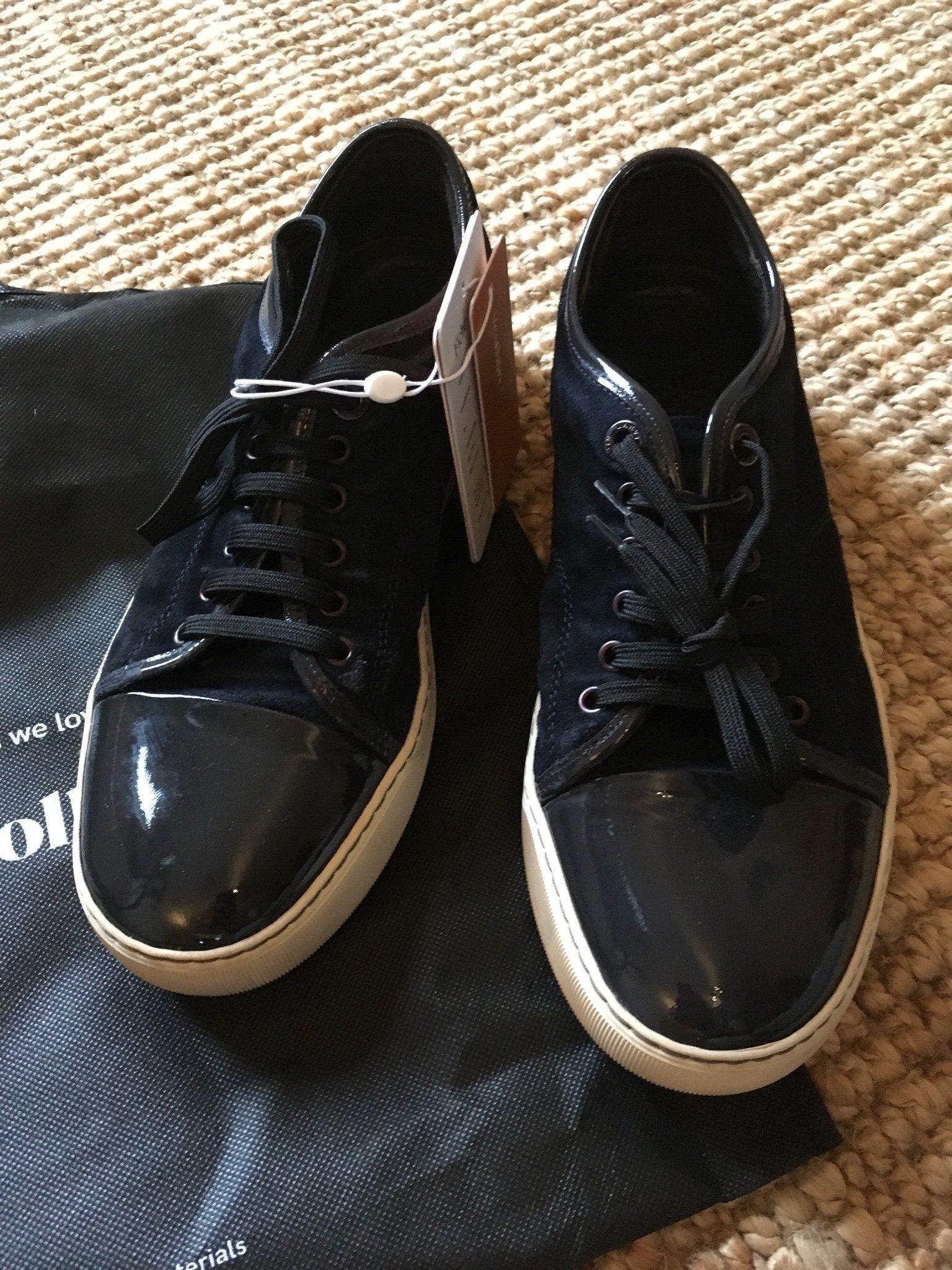 527d9bf910e Lanvin sneakers herr 40 (349443664) ᐈ Köp på Tradera