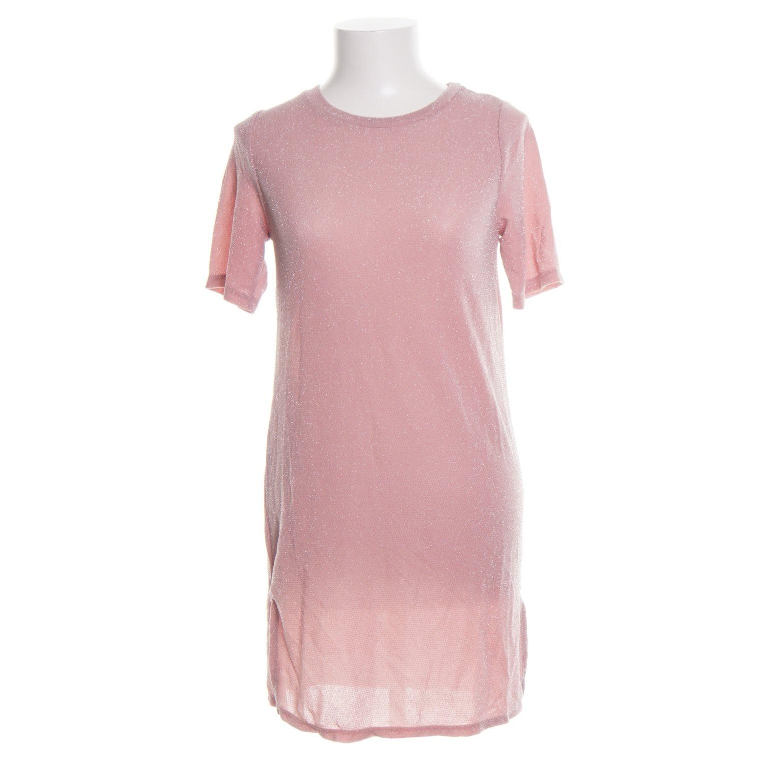 rosa klänning gina tricot