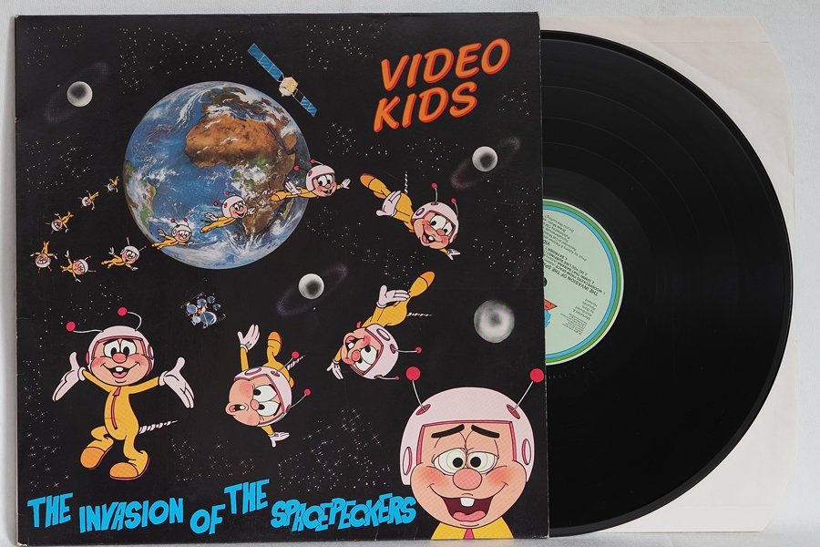Video Kids – The Invasion Of The Spacepeckers – LP