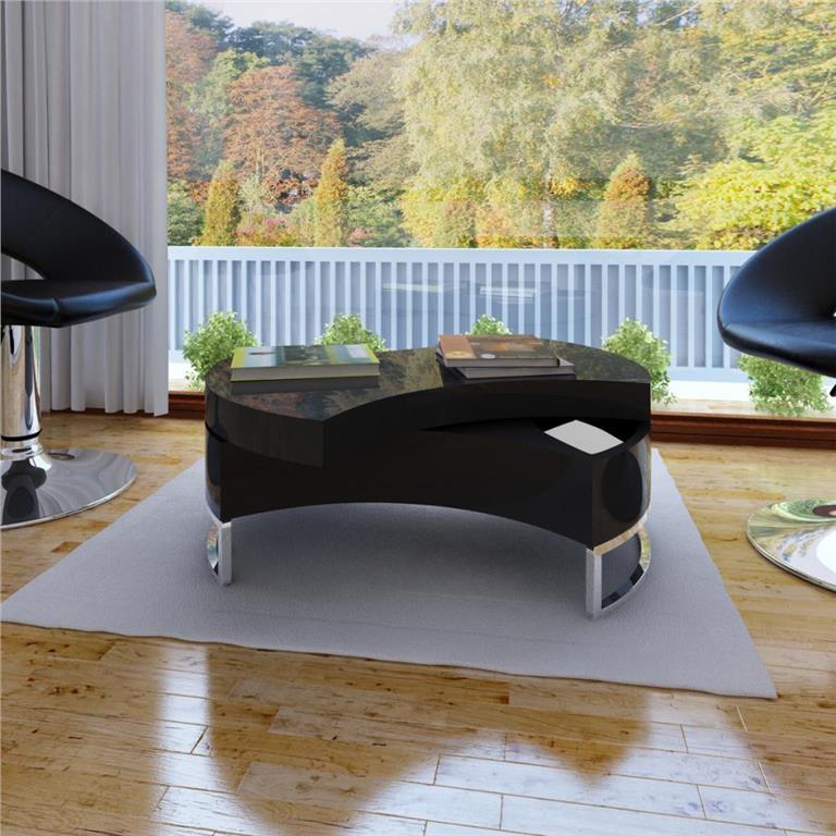 Soffbord Yesterday Från Mio : Mio plaine svart oval soffbord på tradera vardsagsrumsbord
