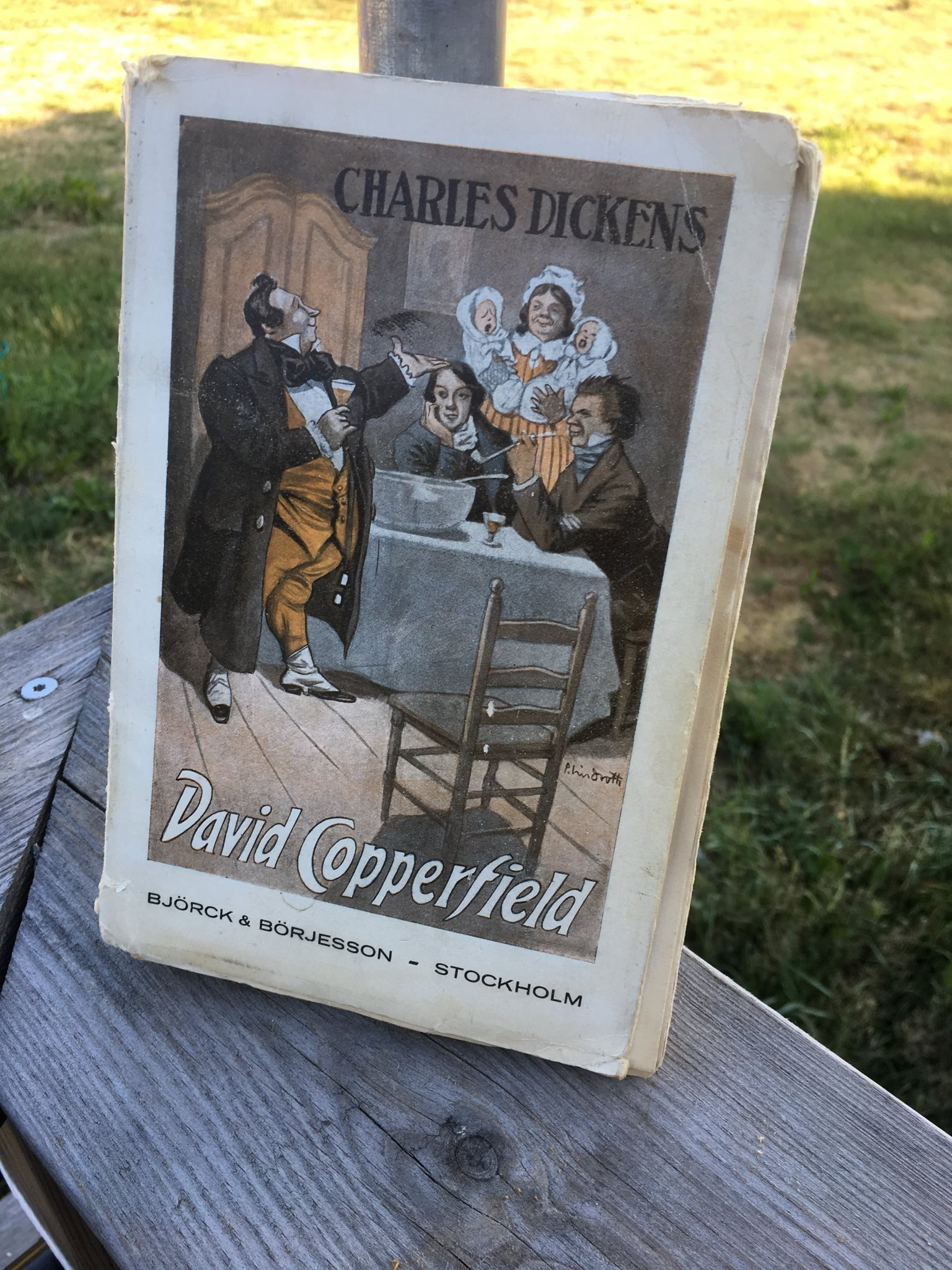 David Copperfield- Charles Dickens- bok- litteratur