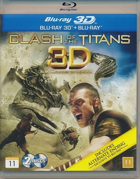 Clash of The Titans(Blu-ray 3D + Bluray)