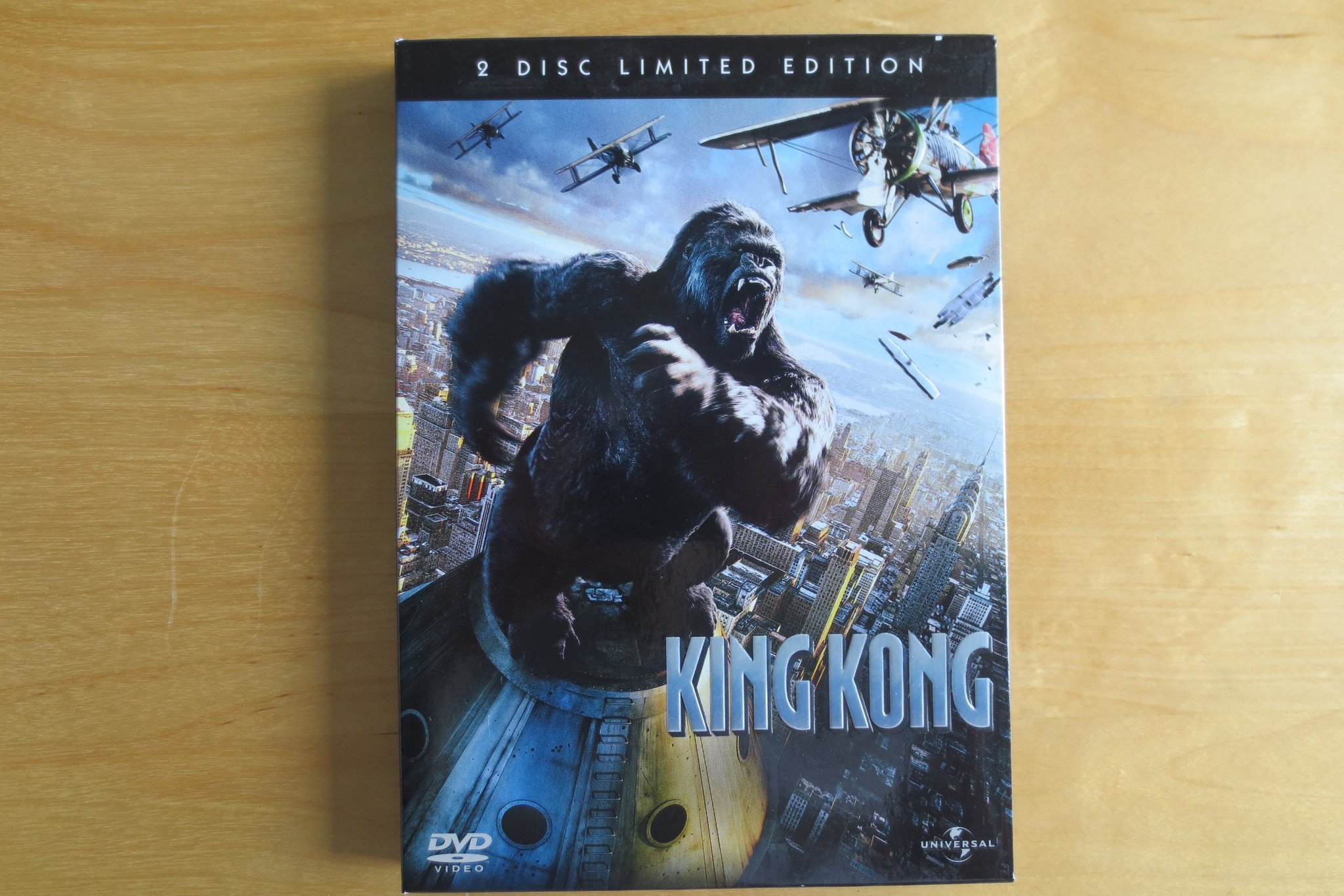King Kong . DVD-Video