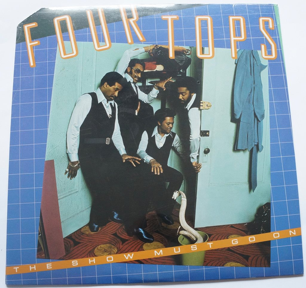 ** Four Tops - The Show must go on SEALED    **