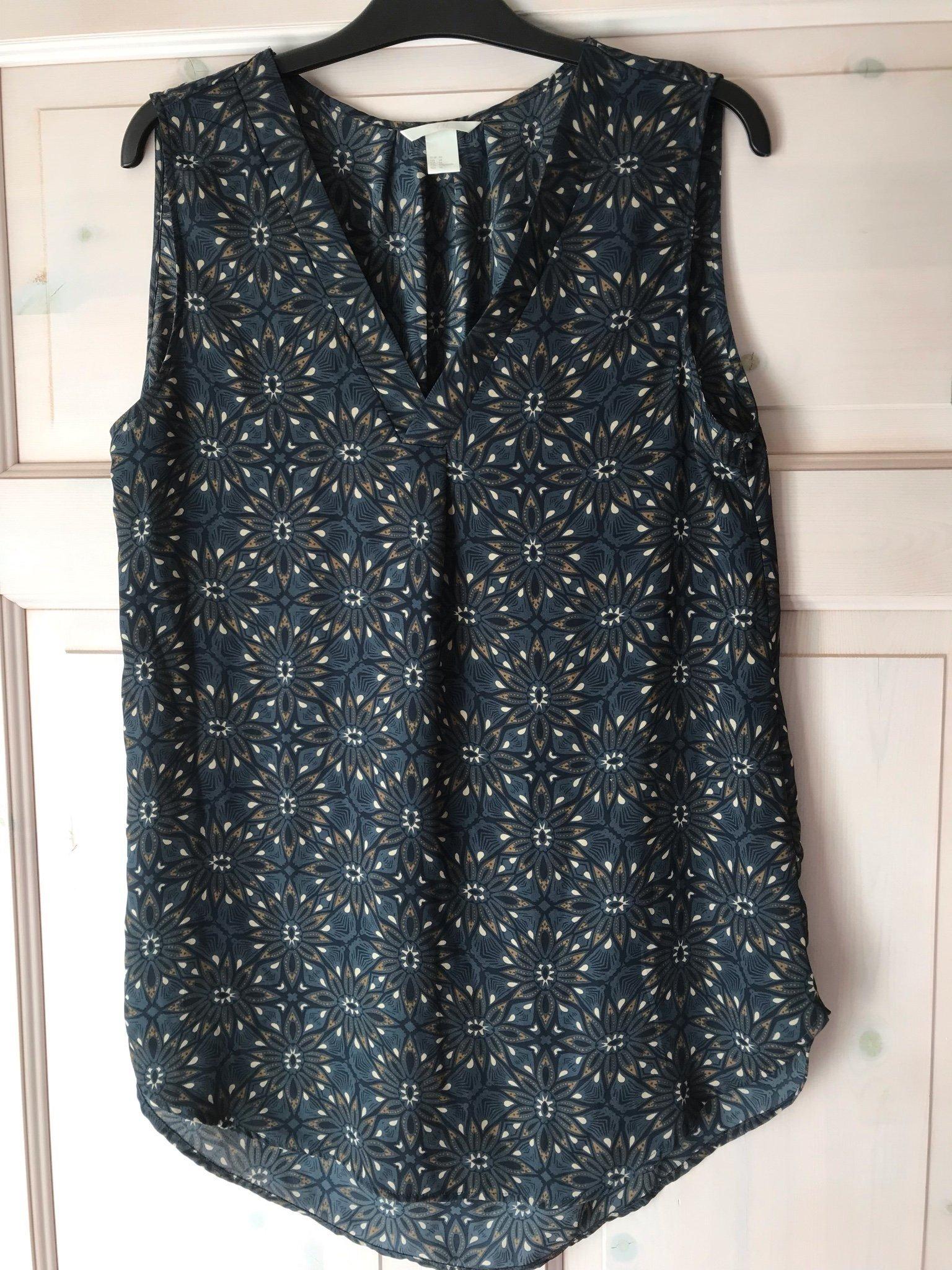 edcf1ae8288f Jätte fint tunika/linne från HM storlek 44 (346080825) ᐈ Köp på Tradera