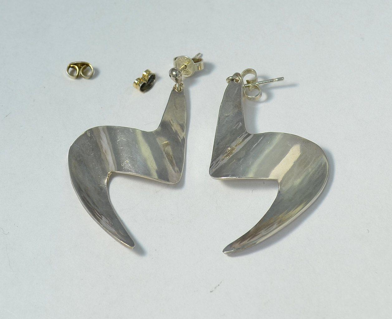 extra ploppar örhängen