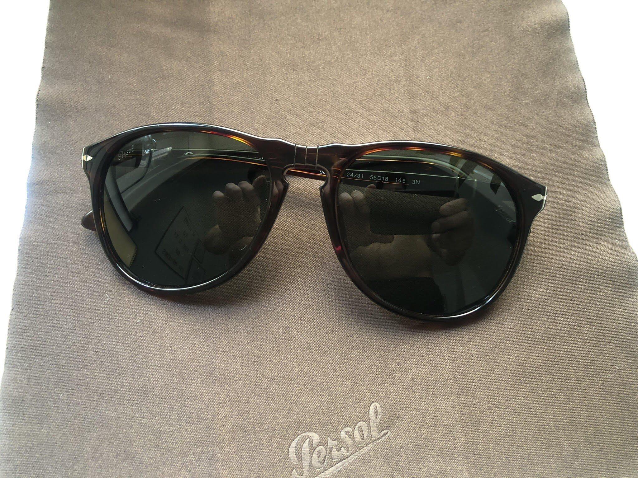 78f2d6fa63ad Persol 9649S Havana Crystal Green (345545317) ᐈ Köp på Tradera