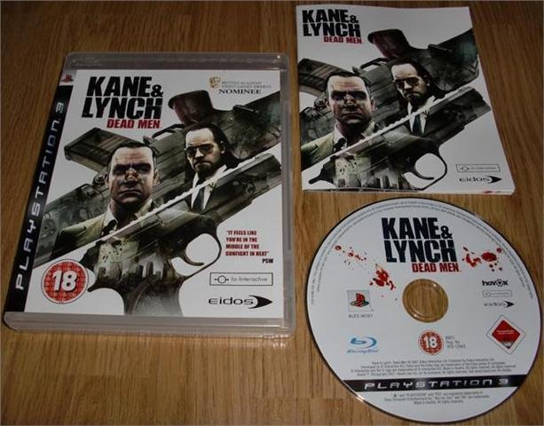 PS3: Kane & Lynch: Dead Men