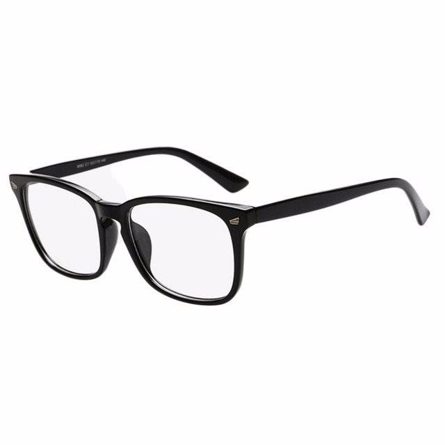 Glasögon utan Styrka Svarta Bågar (250665012) ᐈ Fyndify på Tradera 31f021bfceee5