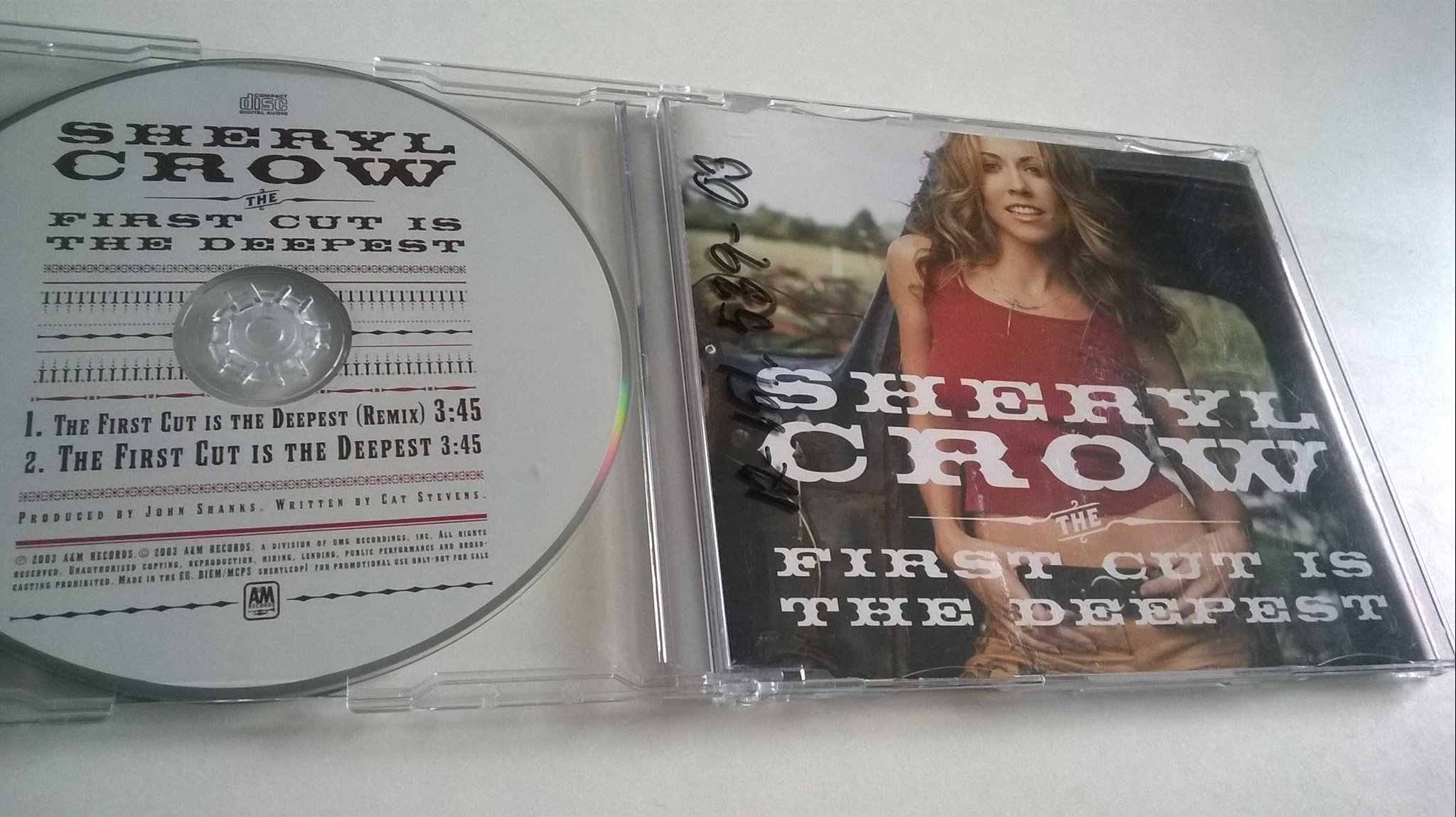 Sheryl Crow - First Cut Is The Deepest, CD, Single