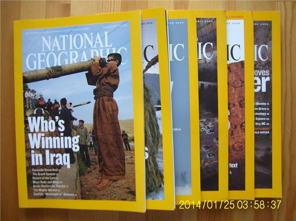 National Geographic 2006 6st. [11]