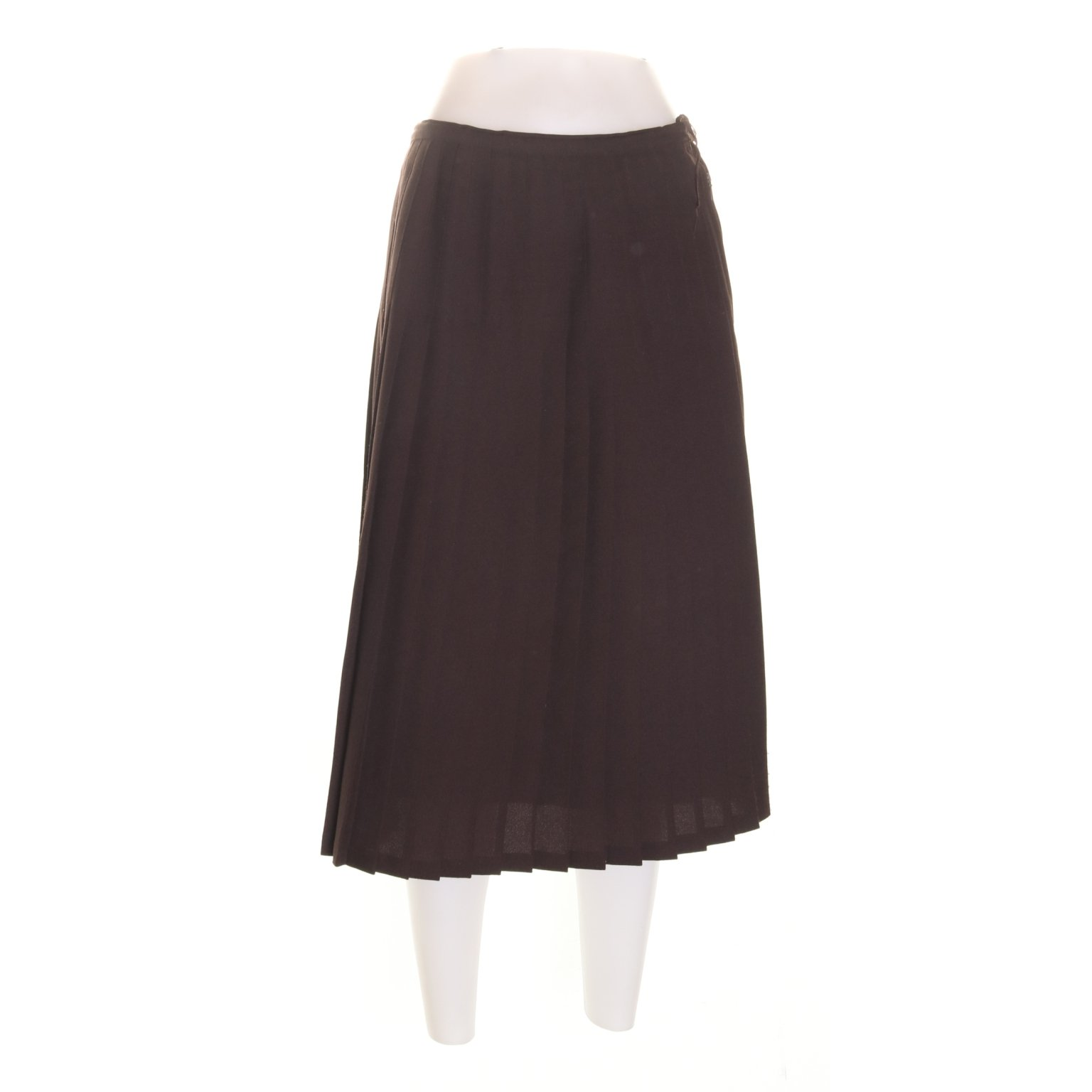 42b34f2f1045 Plisserad kjol, Strl: 42, Brun, Polyester (349870832) ᐈ Sellpy på ...