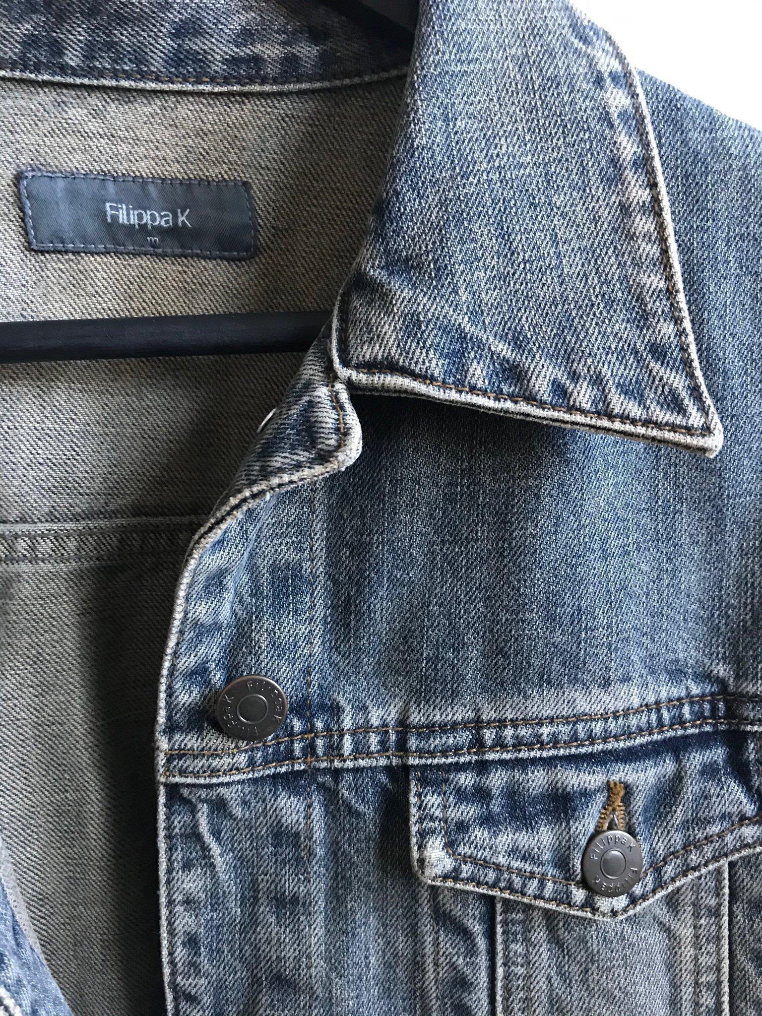 Filippa K jeansjacka, dam, Strl M. (394211224) ᐈ Köp på Tradera
