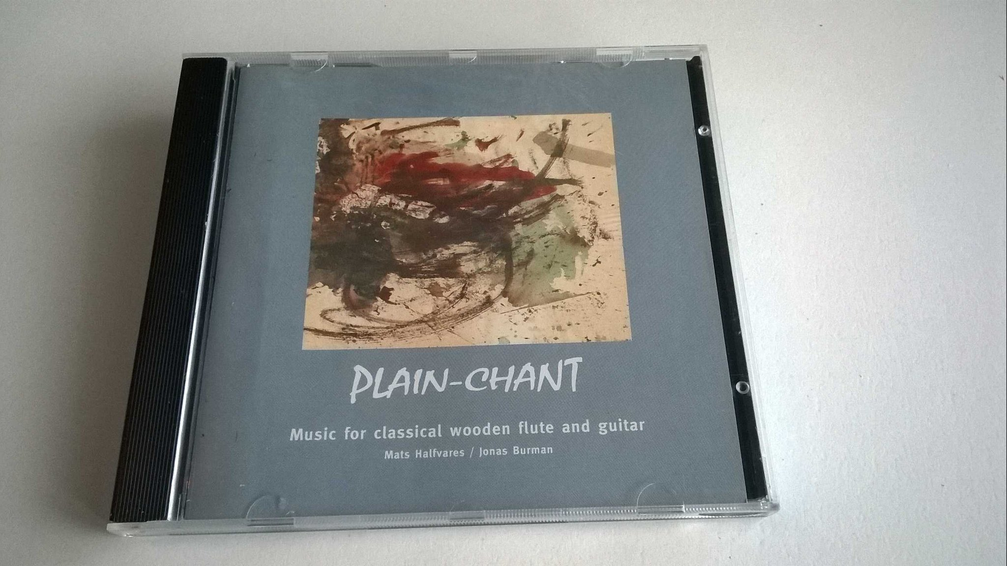 Plain-Chant : Mats Halfvares & Jonas Burman, CD, Album